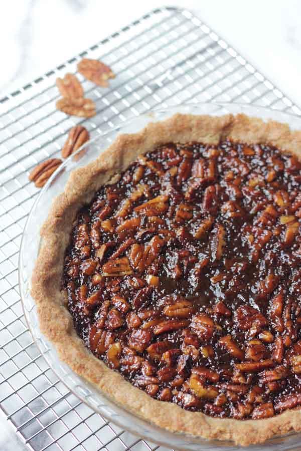 Vegan Gluten Free Pecan Pie