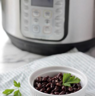 Instant Pot with Black Beans