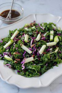 Kale Salad with balsamic vinaigrette