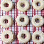 Apple Cider Donuts on Rack