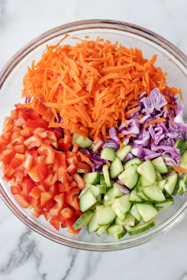 Asian slaw ingredients