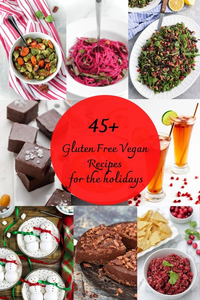 Vegan and gluten free holiday recipes