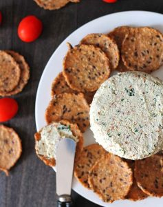 Almond Cheese Spread Appetizer