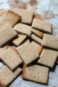 Tigernut Flour Crackers