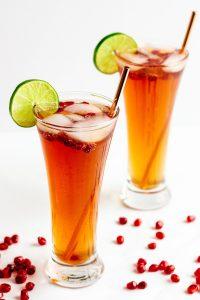 Pomegranate Spritzer