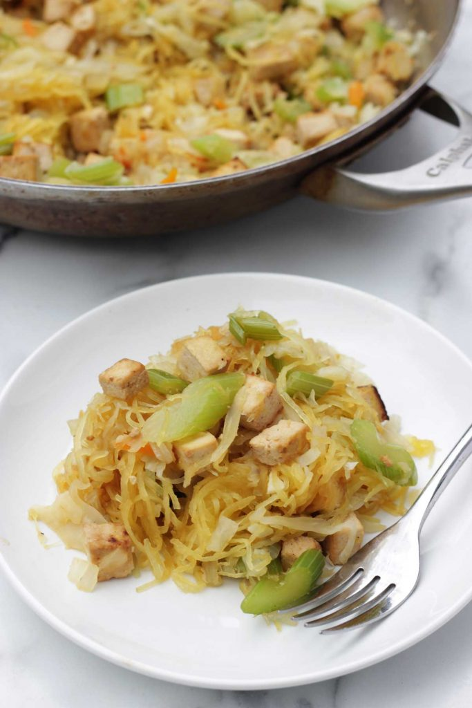 Vegan Tofu Chow Mein