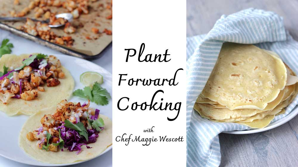 Plant Forward Cooking Class Banner